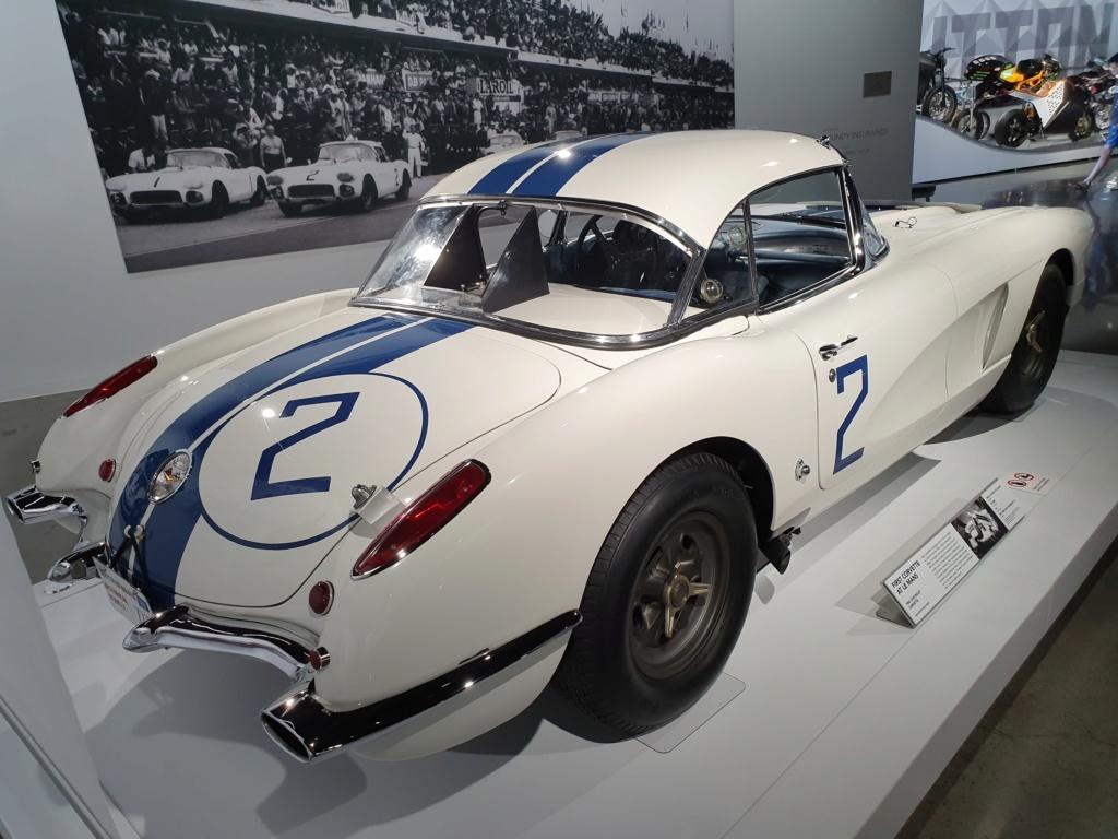 Corvette C1 -LE MANS 1960 - au Petersen Automotive Museum (Los Angeles) 20190713