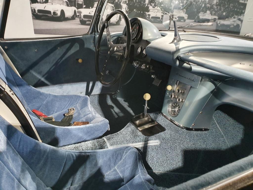 Corvette C1 -LE MANS 1960 - au Petersen Automotive Museum (Los Angeles) 20190714