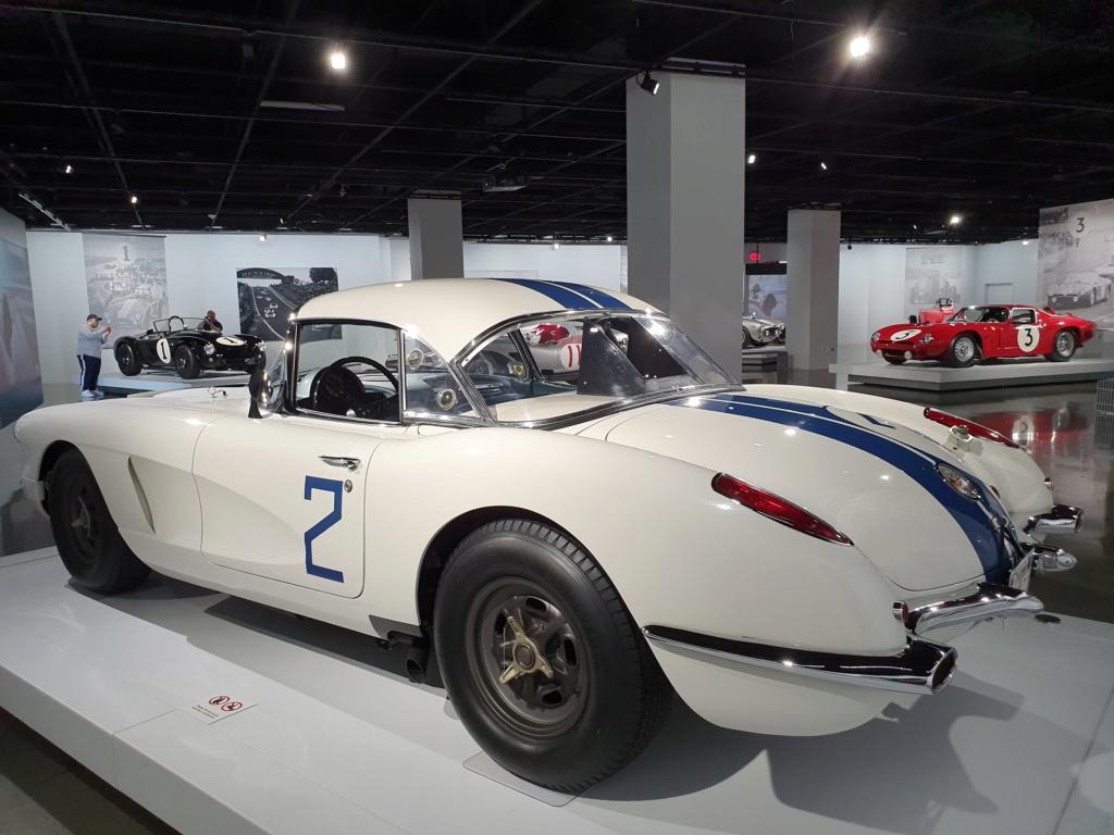 Corvette C1 -LE MANS 1960 - au Petersen Automotive Museum (Los Angeles) 20190715