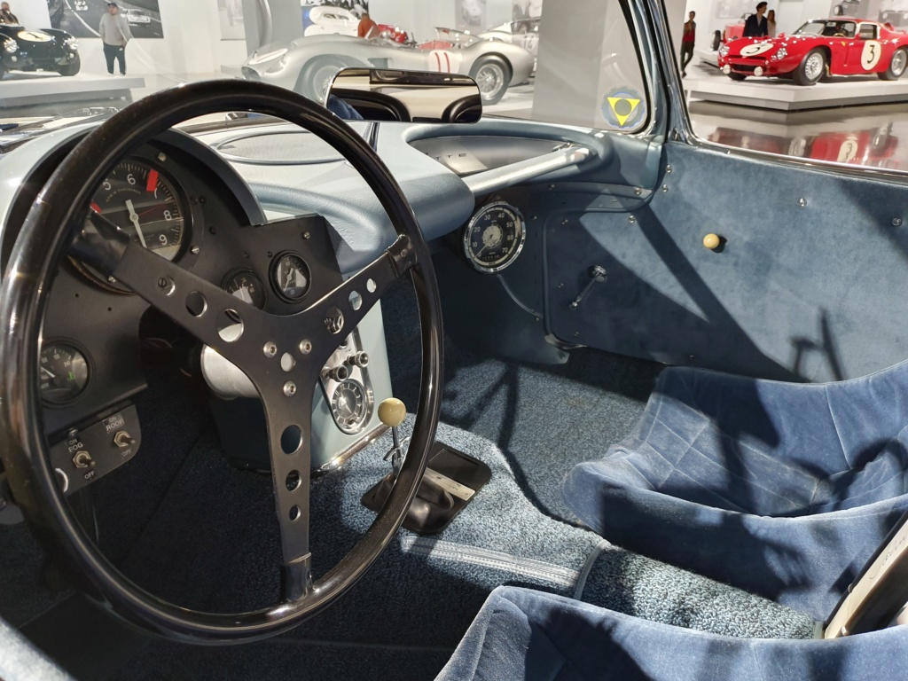 Corvette C1 -LE MANS 1960 - au Petersen Automotive Museum (Los Angeles) 20190717