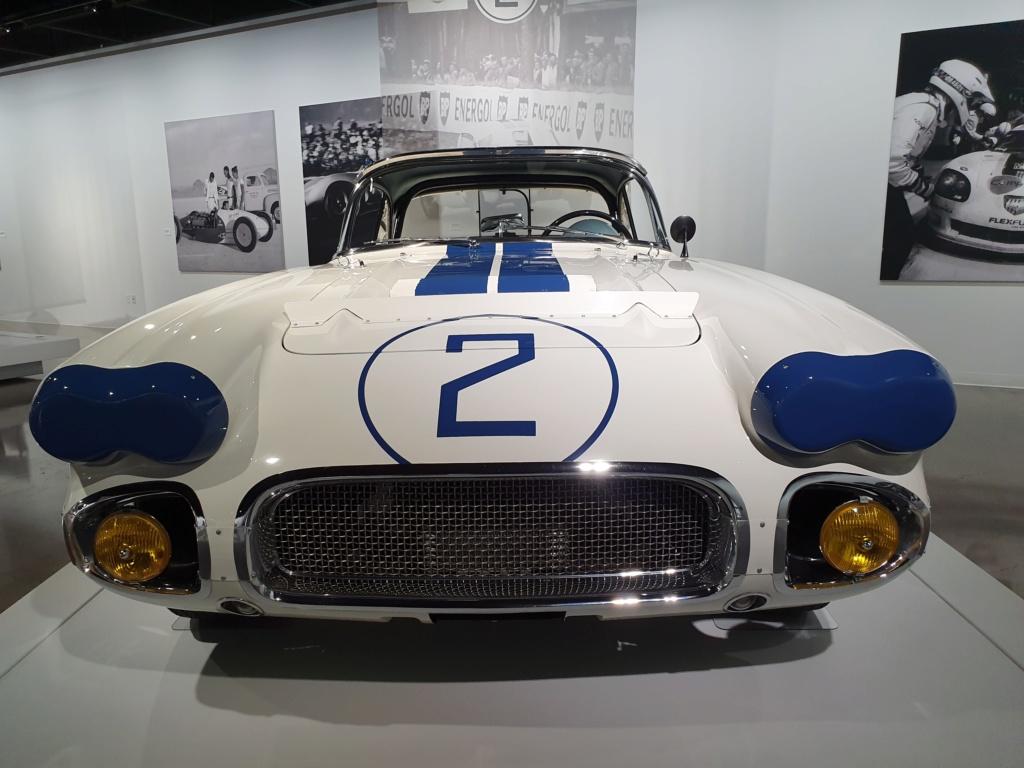 Corvette C1 -LE MANS 1960 - au Petersen Automotive Museum (Los Angeles) 20190720