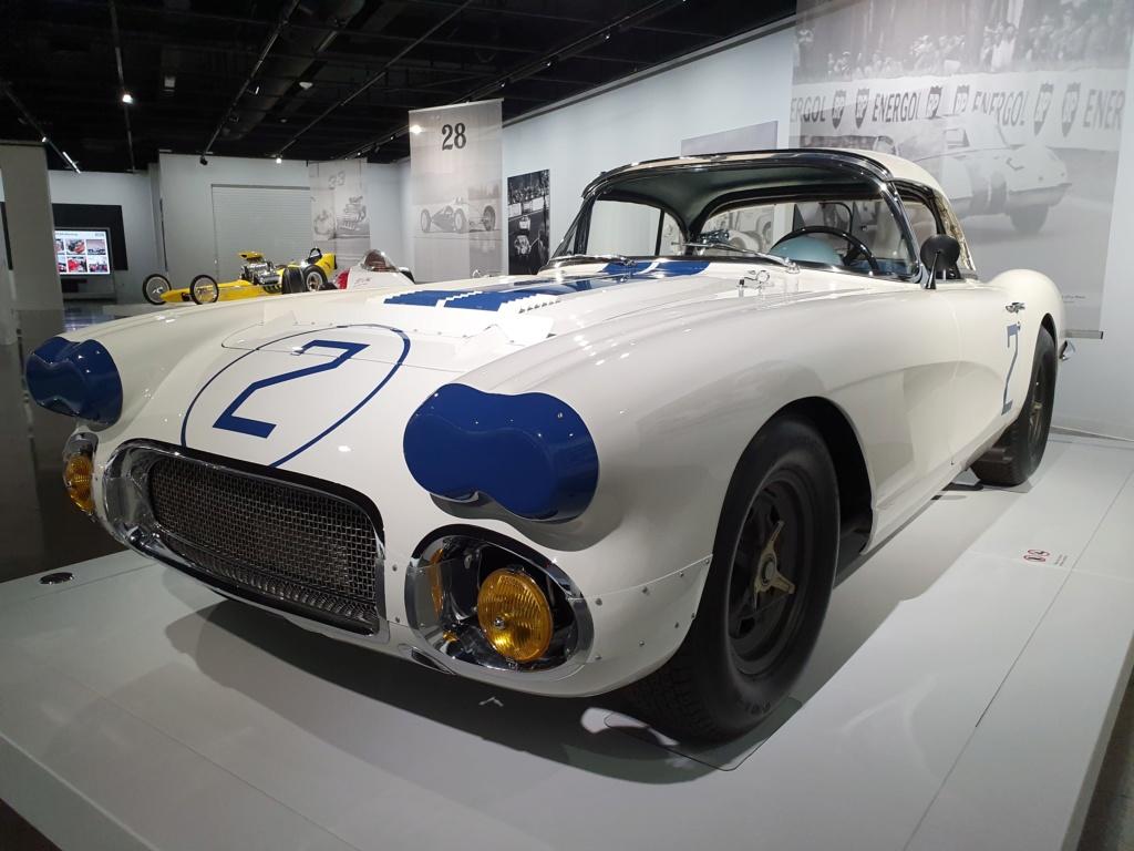 Corvette C1 -LE MANS 1960 - au Petersen Automotive Museum (Los Angeles) 20190721