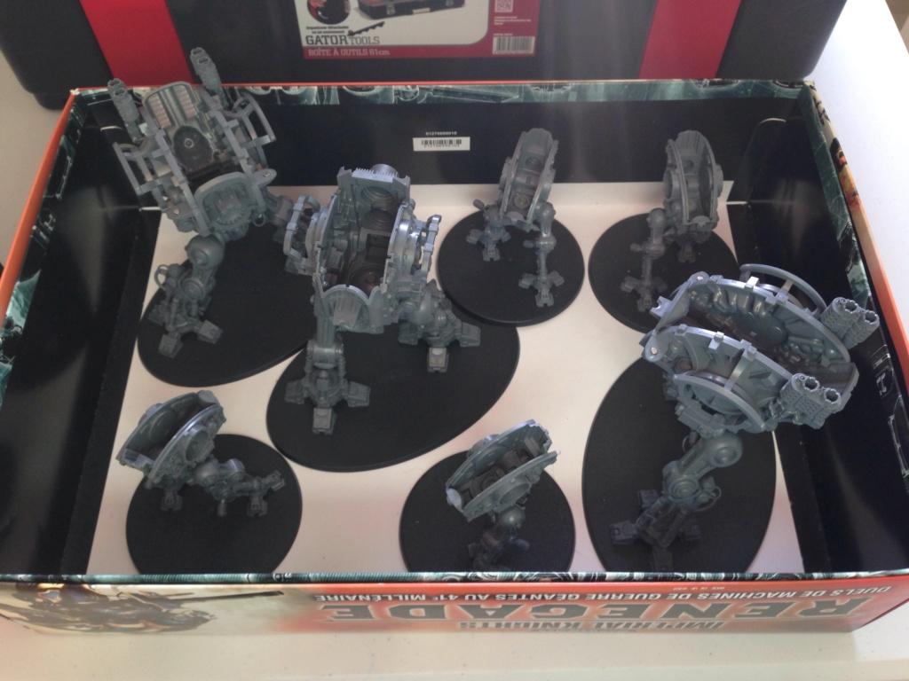 [Peinture] [Warhammer 40,000] Projet Imperial Knight - Weiss Campho10