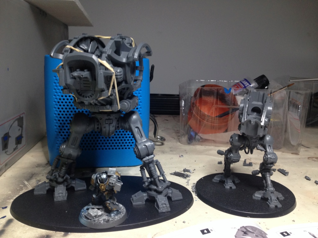[Peinture] [Warhammer 40,000] Projet Imperial Knight - Weiss Img_2810