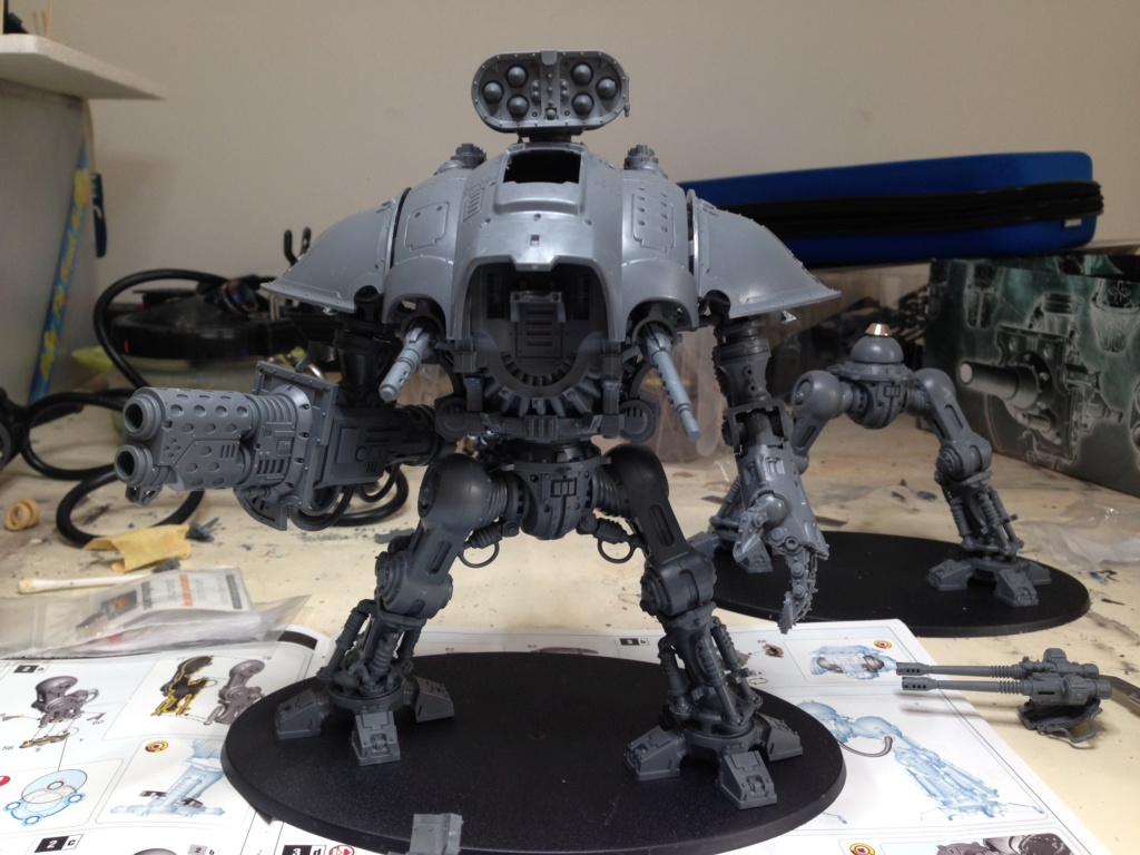 [Peinture] [Warhammer 40,000] Projet Imperial Knight - Weiss Img_2812