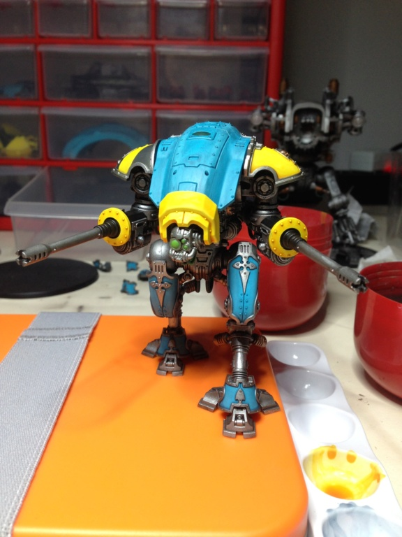 [Peinture] [Warhammer 40,000] Projet Imperial Knight - Weiss Img_3110