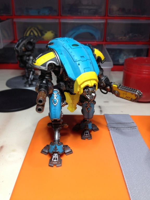 [Peinture] [Warhammer 40,000] Projet Imperial Knight - Weiss Img_3111