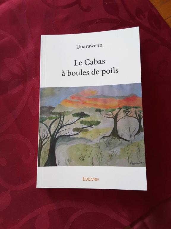 """Livre """"Le cabas à boules de poils"""" / VENDU 20190110"""