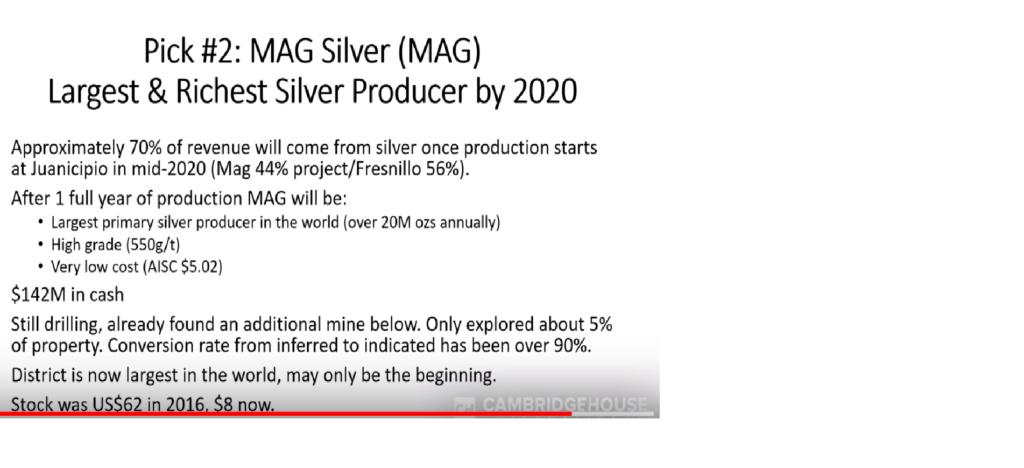 MAG Silver CORP / MAG Mag10