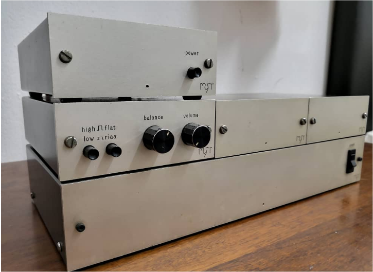 Vintage Myst G-Ohm Monoblock Amplifier(Sold) Whatsa10