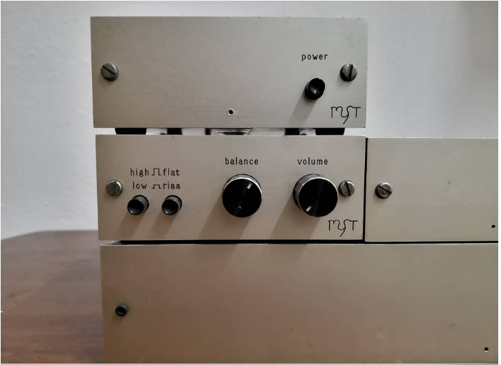 Vintage Myst G-Ohm Monoblock Amplifier(Sold) Whatsa11