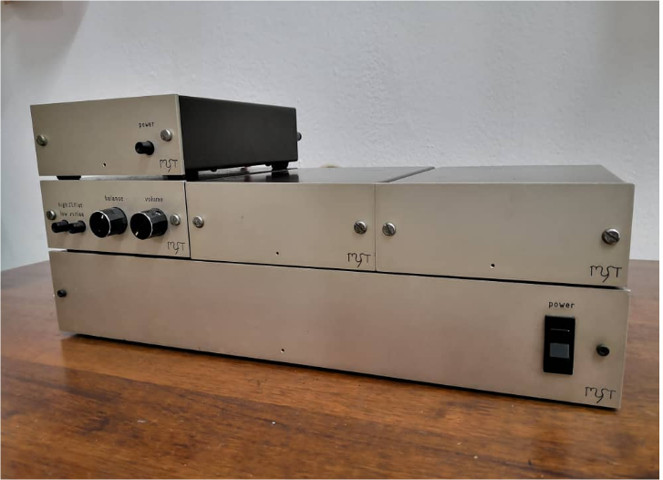 Vintage Myst G-Ohm Monoblock Amplifier(Sold) Whatsa12