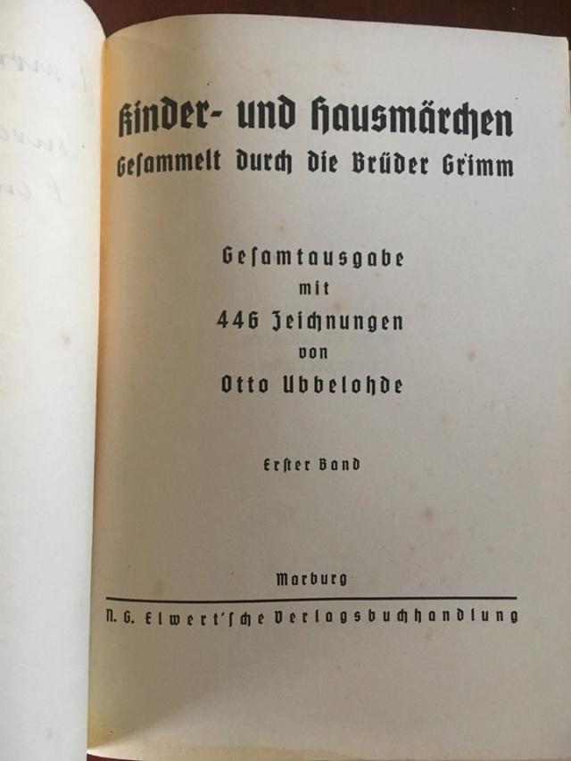 Livre Les Contes de Grimm  Conte310