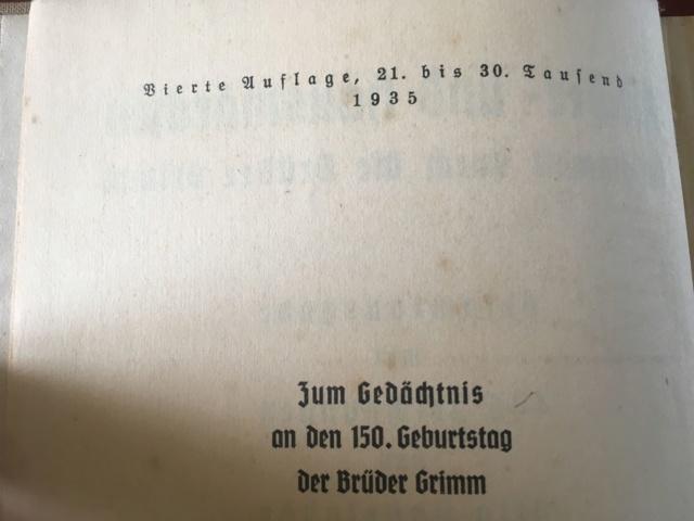 Livre Les Contes de Grimm  Conte410