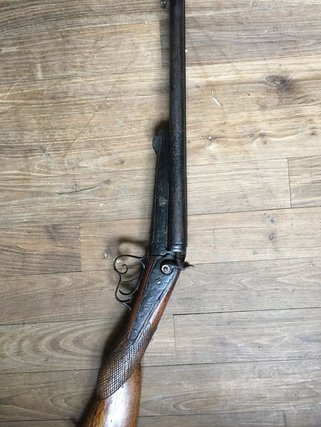 Fusil à chiens St Etiennes. Fusil10