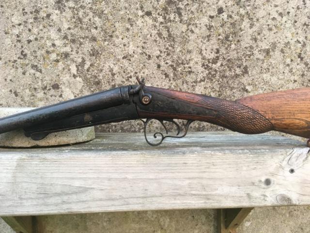 Fusil à chiens St Etiennes. Fusil410