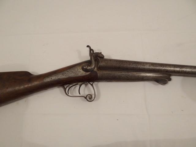 Fusil à chiens St Etiennes. Leufau10