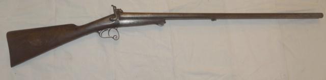 Fusil à chiens St Etiennes. Leufau11