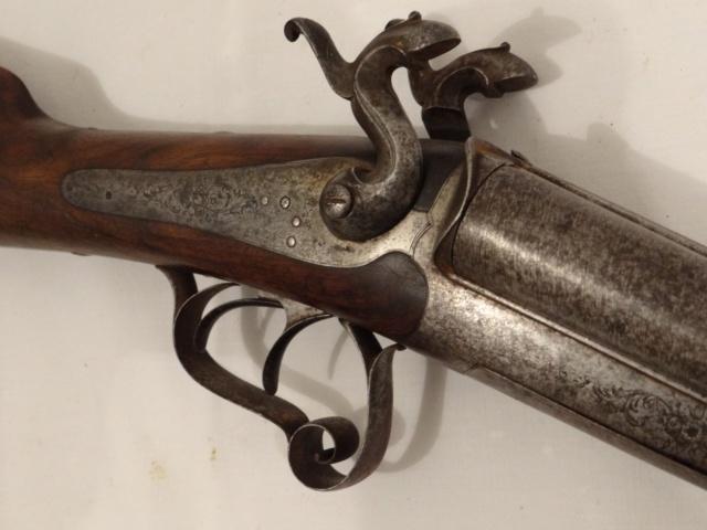 Fusil à chiens St Etiennes. Leufau12