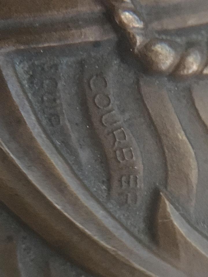 Cinquantenaire des Troupes Coloniales. Médaille de table. M110
