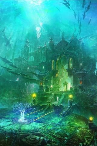 L'île de l'Ondine 6e019810