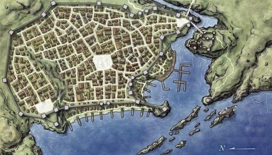 La Cité de Lancel Map_la11