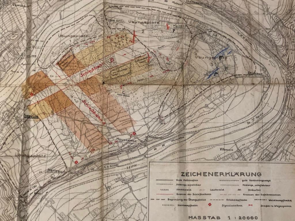 Carte de Bonnieres sur Seine 81cc2210