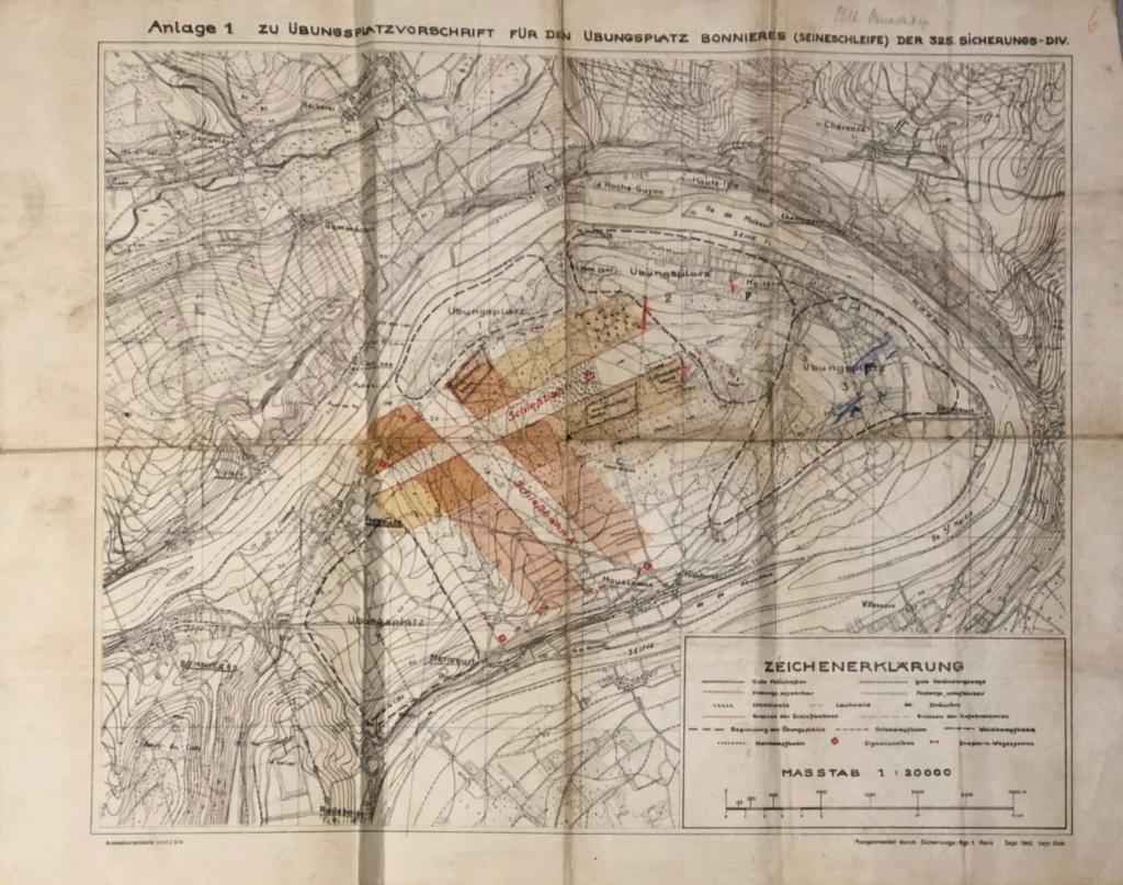 Carte de Bonnieres sur Seine C0b43810