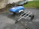 PETITES ANNONCES - vend remorque pour moto chassis inox Chassi10