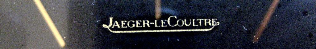 """pendulette jaeger -lecoultre JLC calibre 19"""" - 210 baguette 8 jours Carafe13"""