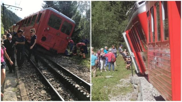 Descarrilament al tren de Montenvers, a Chamonix Df8f1710