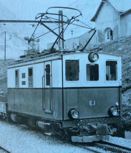 Transformació locomotora cremallera LGB  Nuria10