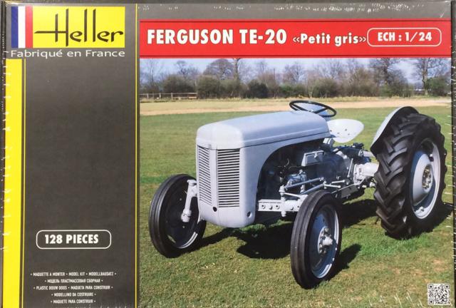 Tractor FERGUSON TE-20 Heller Tracto10