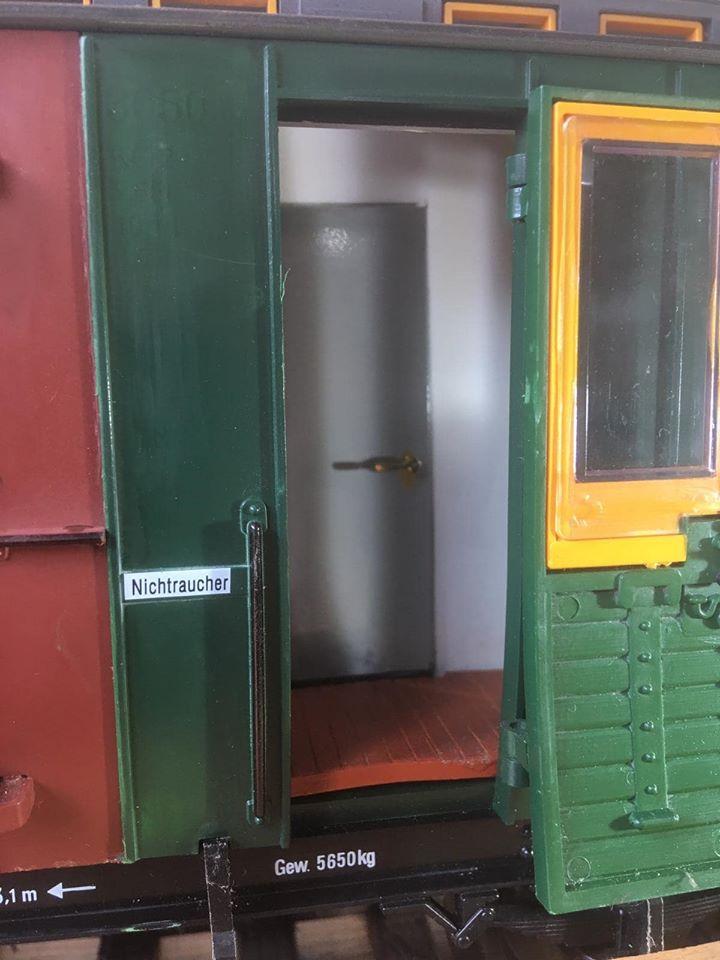Modificació vagons de portes laterals de LGB X_1111
