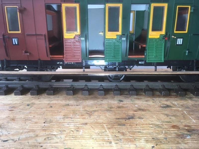 Modificació vagons de portes laterals de LGB X_1510