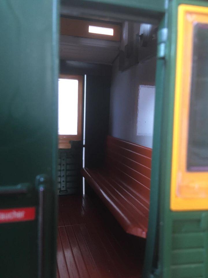 Modificació vagons de portes laterals de LGB X_312