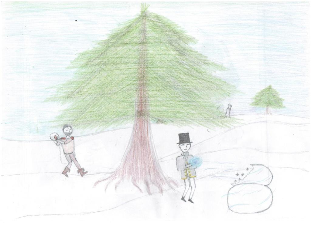   Concours de dessin - Flocon de neige   Flocon10