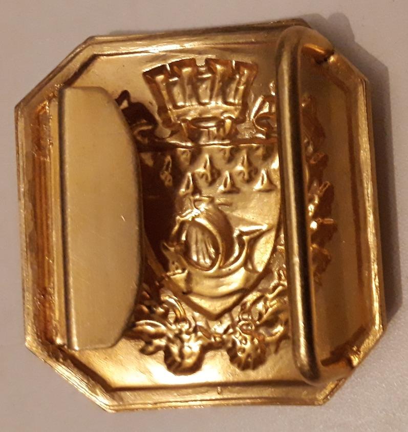 Plateau de ceinturon Garde Républicaine modèle 1933 Boucle11
