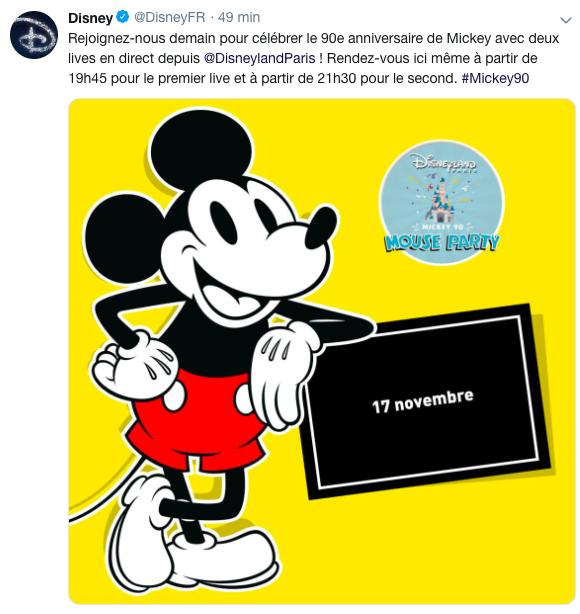 Le jour J approche: le 18 novembre 2018, jour de l'anniversaire de Mickey (90 ans) - Page 2 Captur10