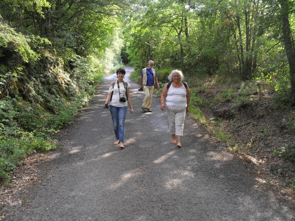 A piedi nudi nella riserva - Gerfalco, 8 luglio Sdc10012