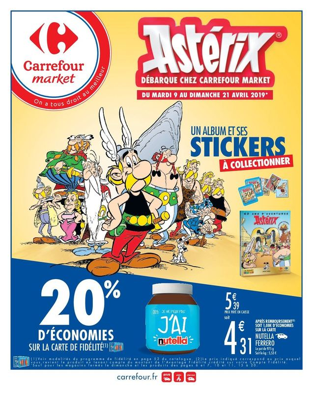 Carrefour et Carrefour Market - Album stickers 45167210