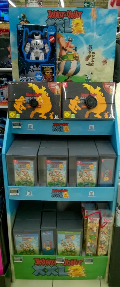 Sony Playstation Mini - PLV Astérix & Obélix XXL2 Asteri39