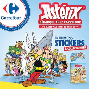Carrefour et Carrefour Market - Album stickers Carref10