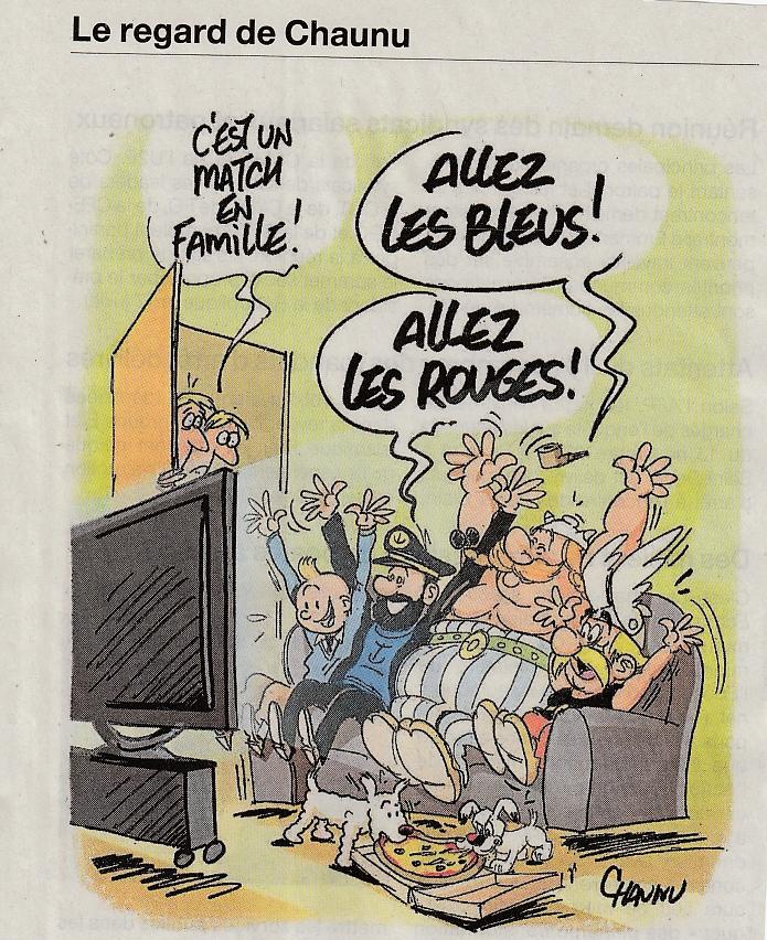 Coupe du Monde - Astérix et Tintin Chaunu11