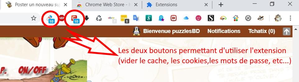 Vider le cache sous Google Chrome Chrome12