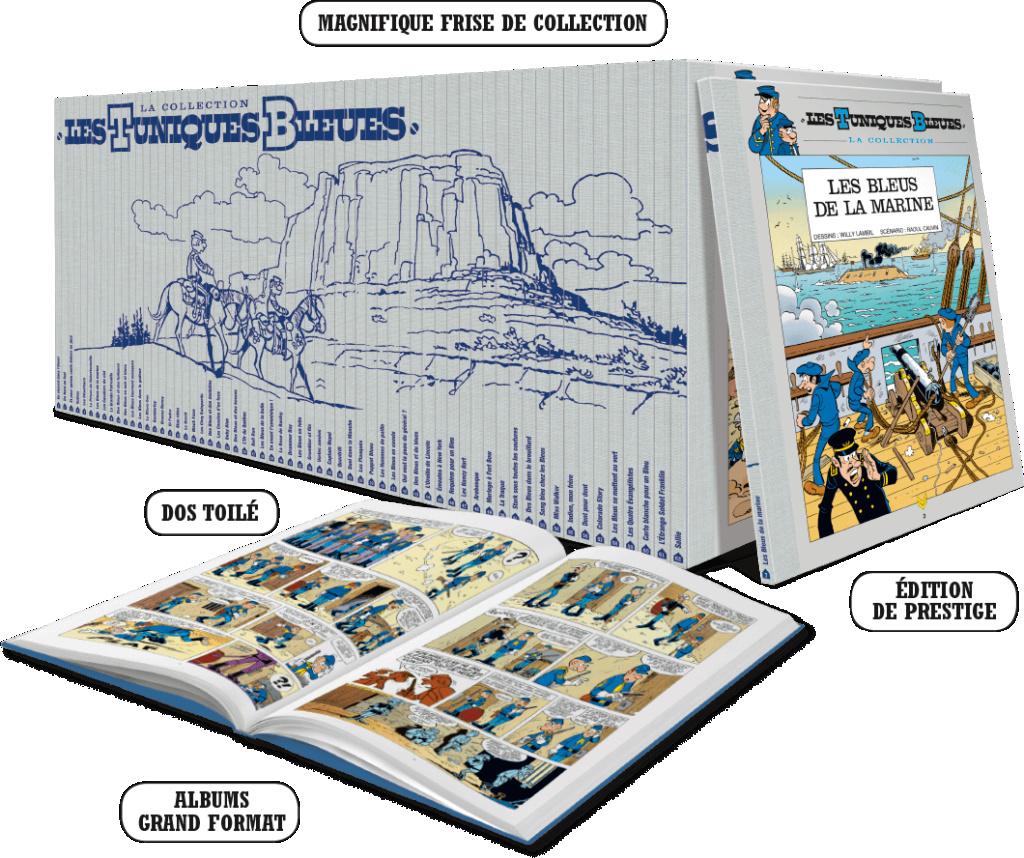 Hachette - Edition prestige Tuniques Bleues Hachet11