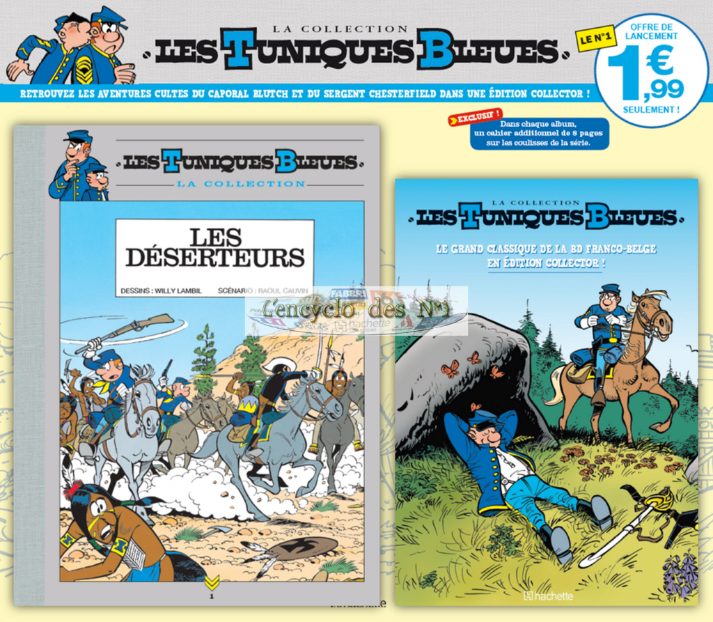 Hachette - Edition prestige Tuniques Bleues Hachet12