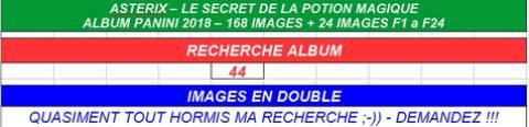 Bourse D Echange Panini Asterix Et Le Secret De La Potion Magique