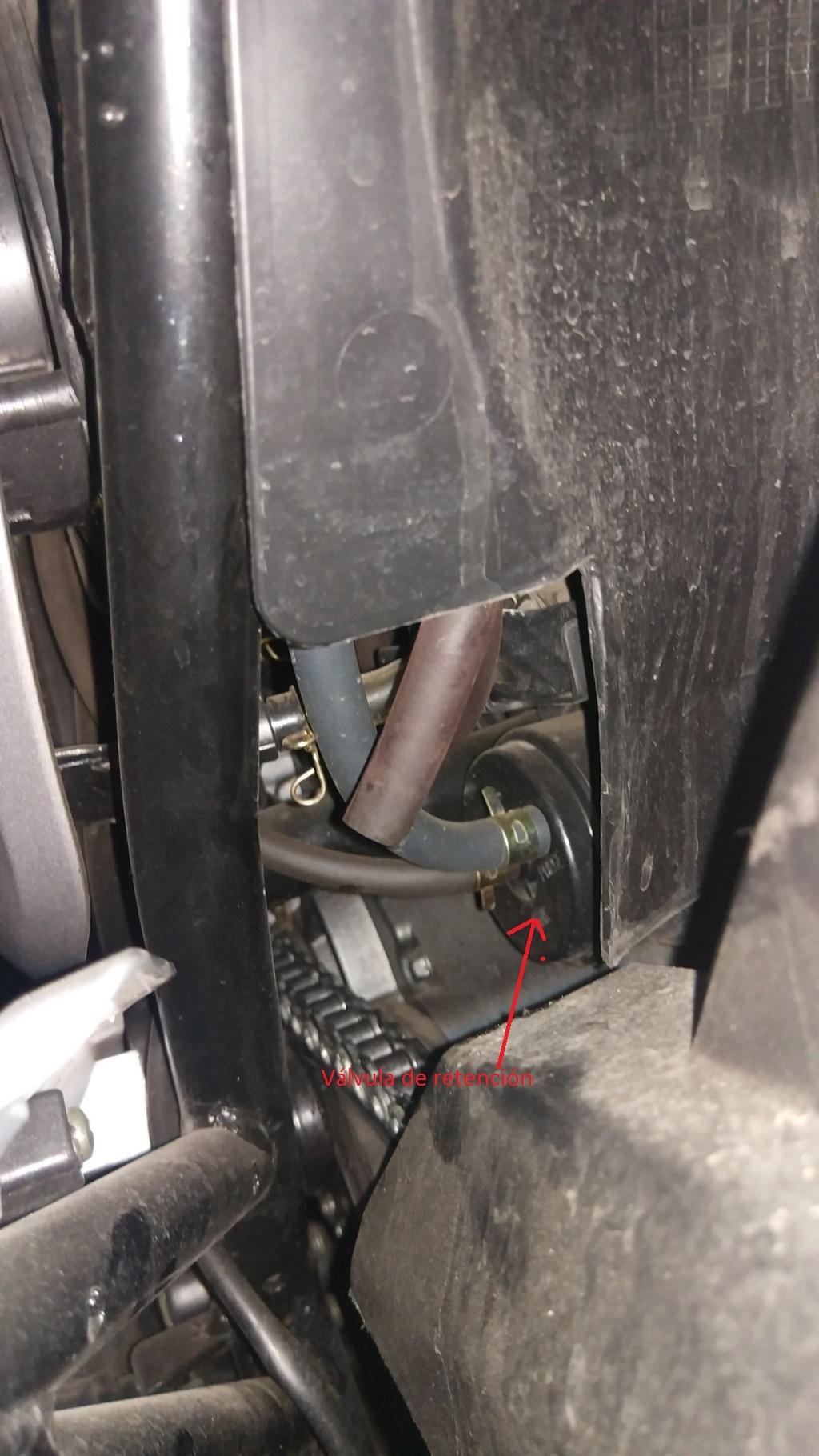 Mancha en el motor y manguera suelta¿?? Img_2011