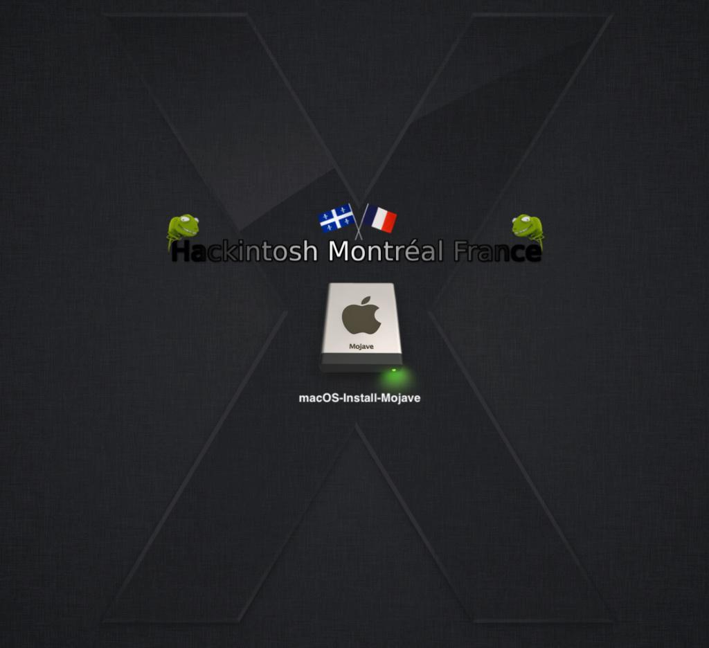 Chameleon macOS Mojave USB Backgr10